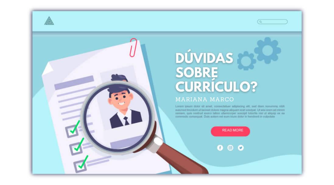 Read more about the article Dúvidas sobre Currículo?